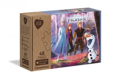 Puzzle 3x48 elementów PFF Frozen 2 (GXP-729398)
