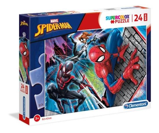 Puzzle 24 MAXI Spider Man (24497 CLEMENTONI)