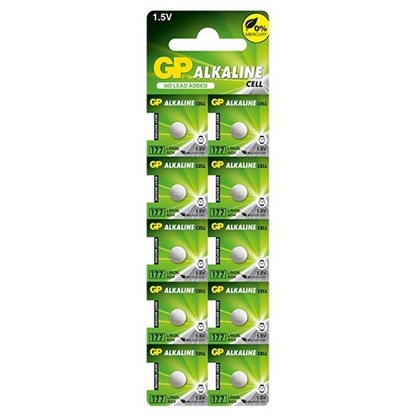 10 x bateria alkaliczna mini GP 177 / G4 / AG4 / LR626 / LR66