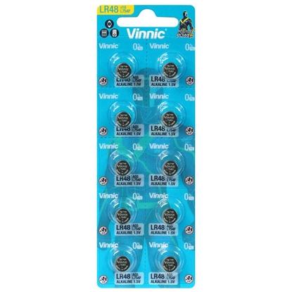 10 x bateria alkaliczna mini Vinnic G5 / LR48 / AG5