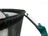 Trampolina Ogrodowa 312cm/10FT Zielona Maxy Comfort Z Wewnętrzną Siatką