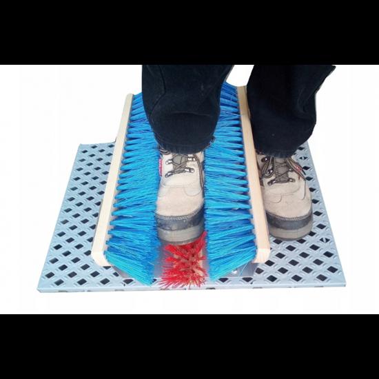 Wycieraczka szczotkowa tunelowa do butów EM DiT