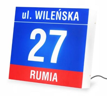 Tablica plafon adresowa 29 x 25 - posesyjna LED 1,5 W