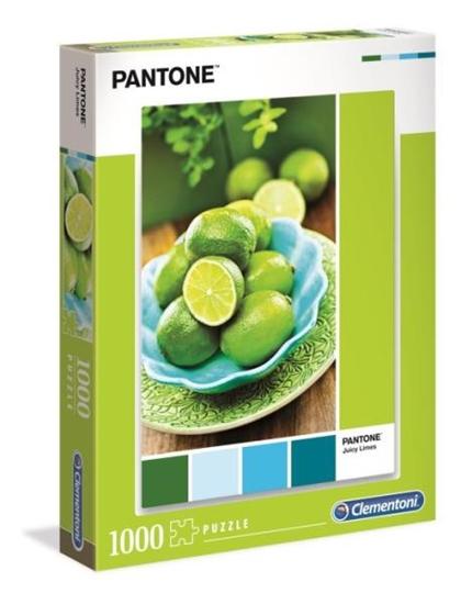Clementoni Puzzle 1000el PANTONE Poncz limonkowy 39492 p6 (39492 CLEMENTONI)