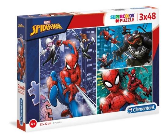 Clementoni Puzzle 3x48el SUPER KOLOR  Spider-Man 25238 p6 (25238 CLEMENTONI)