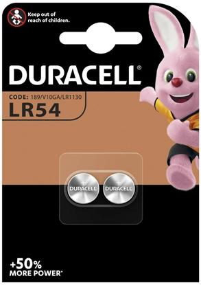 2 x bateria alkaliczna mini Duracell G10 / LR54 / 189 / LR1130