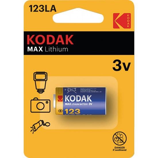 bateria foto litowa KODAK Max Lithium CR123