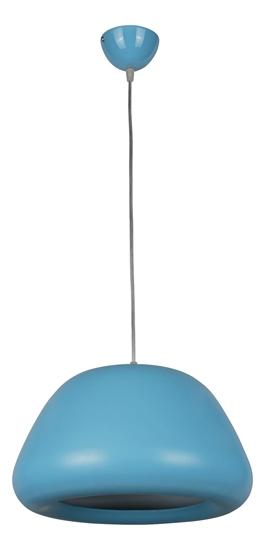 Lampa wisząca Delta 1 niebieska