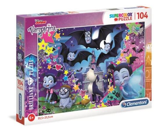 Clementoni Puzzle 104el brilliant Vampirina 20156 (20156 CLEMENTONI)