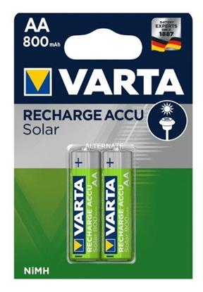2 x akumulatorki AA / R6 Varta SOLAR Ni-MH 800 mAh