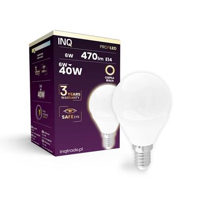 LAMPA  G45 E14 LED PROFI 6 KULKA 470lm 3000K INQ