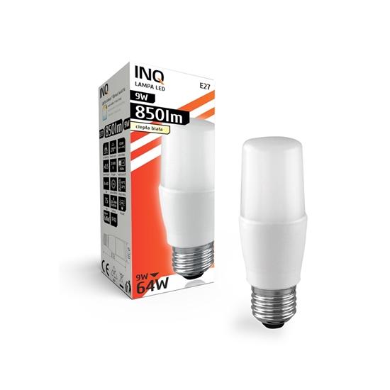 LAMPA LED E27  BULB PROFI   9W T40 830 850lm do plafonier INQ