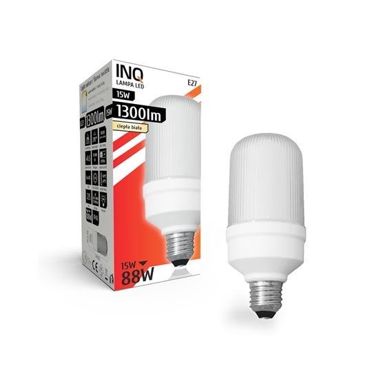 LAMPA LED E27  BULB PROFI  15W T65 830 1300lm do plafonier INQ
