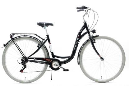"""Rower MAXIM 28"""" MC 0.3.6 czarny"""