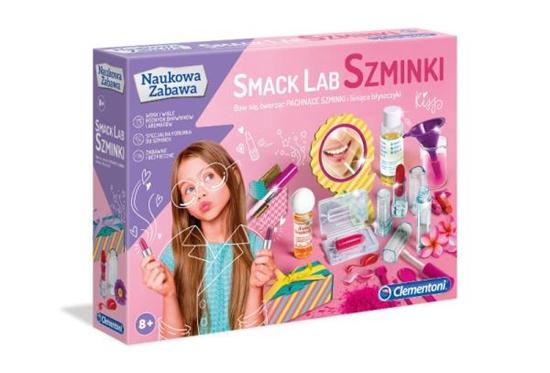 Clementoni Smack Lab Szminki 50672 (50672 CLEMENTONI)