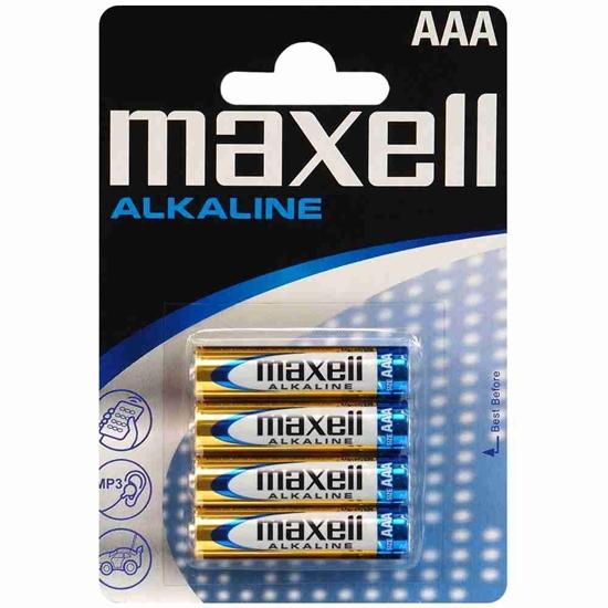 4 x bateria alkaliczna Maxell Alkaline LR03 / AAA