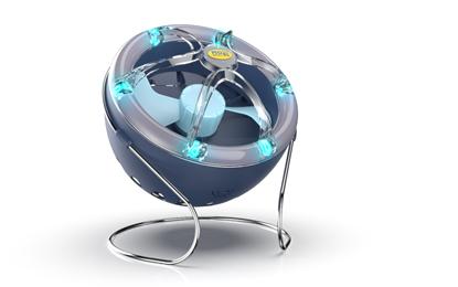 Lampa Owadobójcza 300 m2 Wiatrakowa MO-EL MOON LED