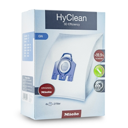 Oryginalne worki Miele S8000 > S8999 S8 Hyclean 3D Efficiency G N