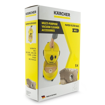 Oryginalne worki Karcher 6.904-322.0 WD2 MV2
