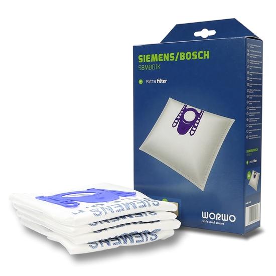 Worki do odkurzacza Bosch 6000...6999 Siemens Seria D E F G H