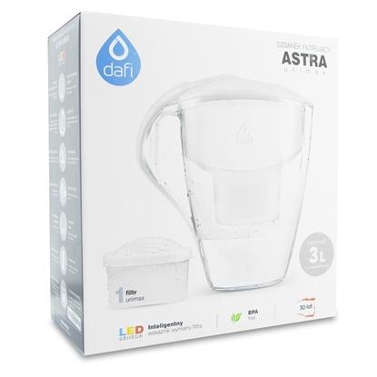 Dzbanek filtrujący Dafi Astra Led + wkład Unimax