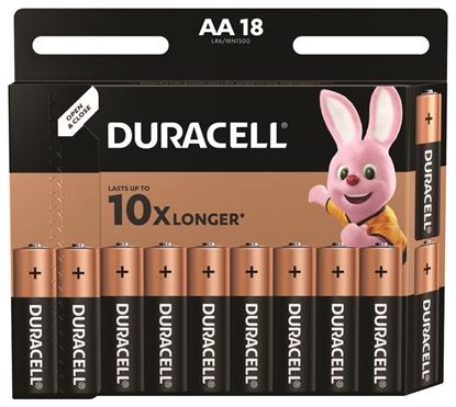18 x bateria alkaliczna Duracell Basic LR6 AA (blister)