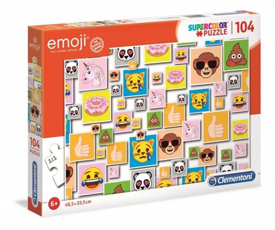 Puzzle 104 elementy Super Kolor Emoji (GXP-702105)