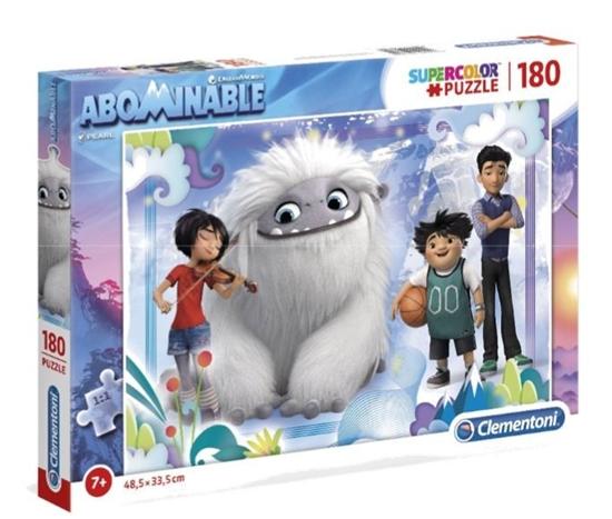 Puzzle 180 elementów Super Kolor Abominable (GXP-702208)
