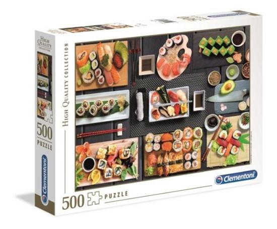 Clementoni Puzzle 500el HQ Sushi 35064 p6 (35064 CLEMENTONI)