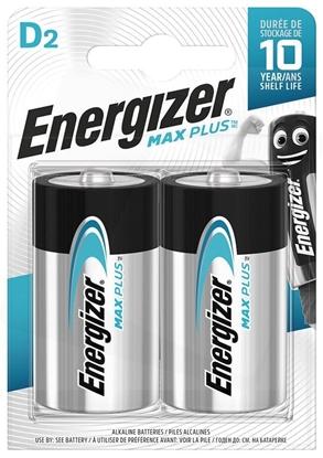 2 x bateria alkaliczna Energizer Max Plus LR20/D (blister)
