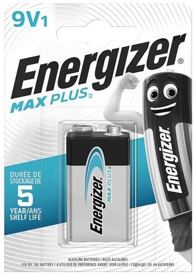 bateria alkaliczna Energizer Max Plus 6LR61/9V (blister)