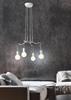 Lampa wisząca sufitowa biała matowa oprawa 4x40W Basso Candellux 34-71002