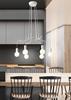 Lampa wisząca sufitowa biała matowa oprawa 6x40W Basso Candellux 36-71026