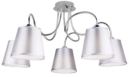 Lampa Sufitowa Wisząca Candellux Luk 35-70753 E14 Chrom