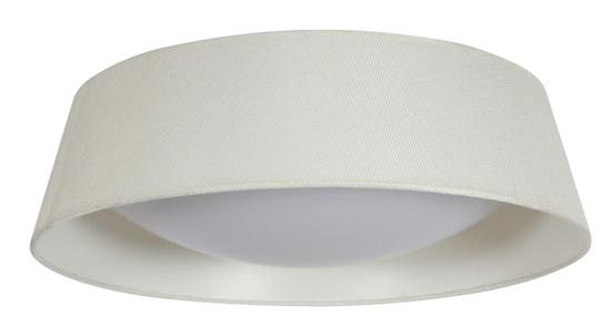 Lampa Sufitowa Candellux Mola 31-41494 Plafon 16W Led 6500K Z Abażurem Kremowy