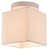 Lampa Sufitowa Candellux Boho 31-58423 E27 Biały Abażur Beżowy