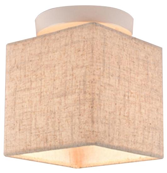 Lampa Sufitowa Candellux Boho 31-58430 E27 Biały Abażur Len