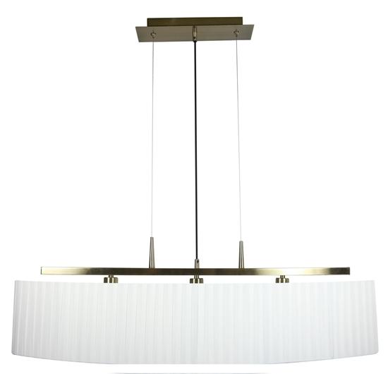 LAMPA SUFITOWA WISZĄCA CANDELLUX BERG 33-45188  E14 PATYNA ABAŻUR BIAŁY