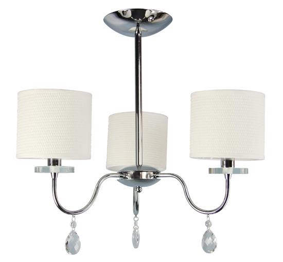 Lampa Sufitowa Wisząca Candellux Estera 33-11664 E14 Chrom