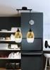 Lampa sufitowa wisząca złota regulowana 2x60W Celia Candellux 32-57310