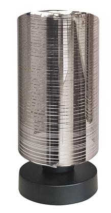 Lampka stołowa gabinetowa chromowa nocna chromowa 1X60W E27 Cox 41-53893