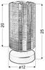 Lampa Stołowa Gabinetowa Candellux Cox 41-53893 E27 Chrom