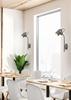 LAMPA ŚCIENNA KINKIET CANDELLUX GRAY 91-66527 NA WYSIĘGNIKU  E14 SZARY
