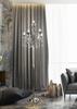 Lampa podłogowa chromowa z kryształkami 5x40W Aurora Candellux 55-97593