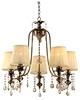 LAMPA SUFITOWA WISZĄCA CANDELLUX ADONIS 35-13866  E14 PATYNA