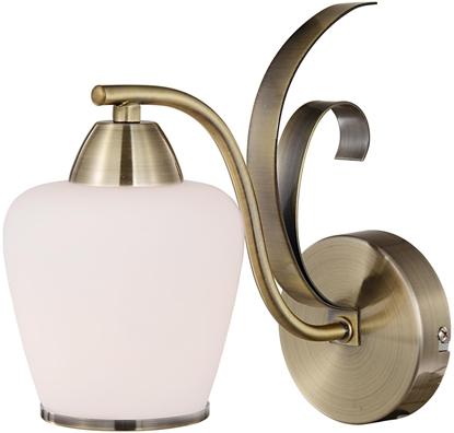 LAMPA ŚCIENNA KINKIET CANDELLUX OPERA 21-54944  E27 PATYNA