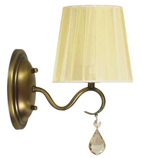 LAMPA ŚCIENNA KINKIET CANDELLUX FIESTA 21-04420  E14