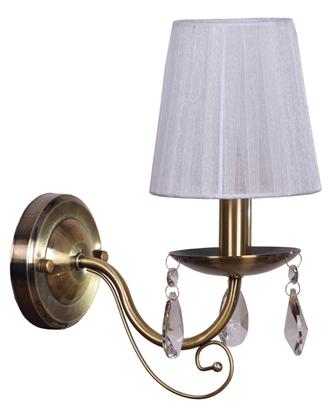 LAMPA ŚCIENNA KINKIET CANDELLUX DYNASTY 21-09081  E14 PATYNA