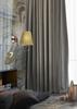 Kinkiet patynowy abażur miodowy z tkaniny Mozart Candellux 21-33963