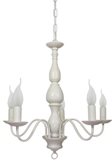 LAMPA SUFITOWA WISZĄCA CANDELLUX BELLAGIO 35-96503  E14 KREMOWY
